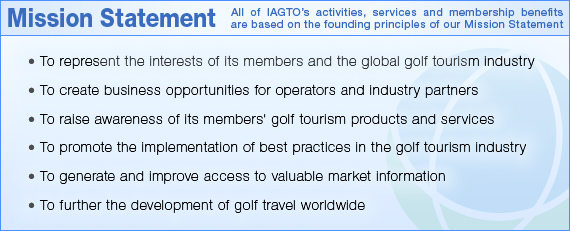 IAGTO Mission Statement