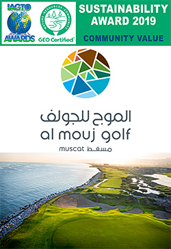 Al Mouj Golf wins the IAGTO Sustainability Award for Community Value