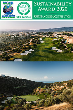 Aphrodite Hills Golf Resort in Cyprus Wins IAGTO Sustainability Award for Outstanding Contribution