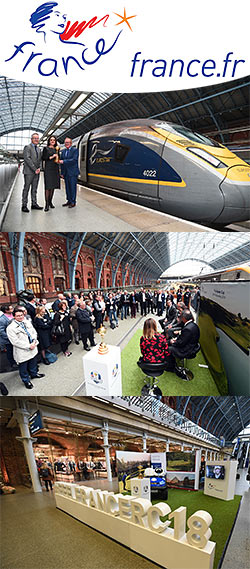 Ryder Cup Rendezvous: Iconic trophy arrives at London St Pancras International