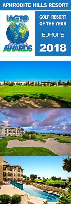 Aphrodite Hills Resort European Golf Resort of the Year 2018