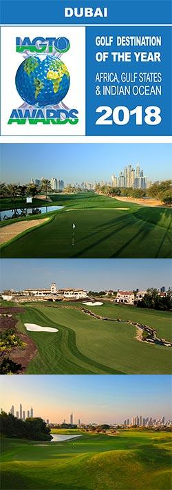 Dubai wins award for 'Best international Golfing Destination'