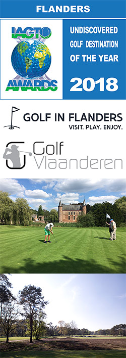 Golf in Flanders, IAGTO Undiscovered Golf Destination of the Year for 2018.