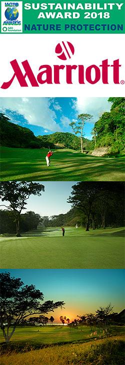 Los Sueños Marriott Ocean & Golf Resort Wins IAGTO Sustainability Award for Nature Protection