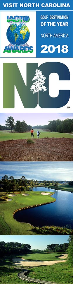 North Carolina Selected IAGTO North American Golf Destination of the Year