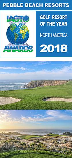 Pebble Beach Resorts Named 2018 North America Golf Resort of the Year by IAGTO