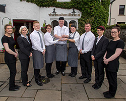 The Bushmills Inn wins the 2020 IAGTO Hotel Experience of the Year Award for Northern Ireland