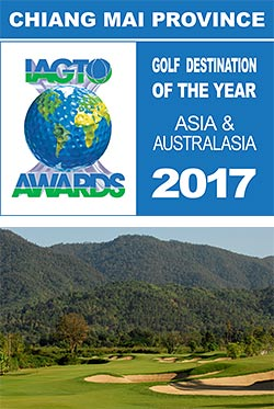 Chiang Mai wins IAGTO Award as Asia & Australasia Golf Destination of the Year for 2017