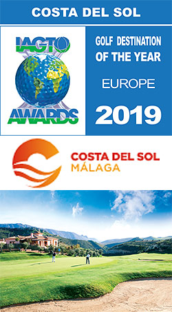 The Costa del Sol receives the IAGTO award for European Golf Destination of the Year