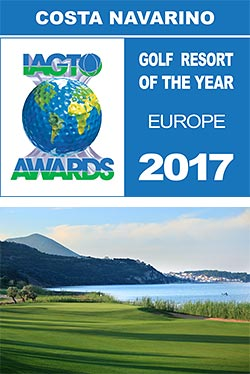 Costa Navarino awarded IAGTO European Golf Resort of the Year 2017
