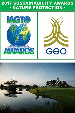 The Great Rift Valley Lodge & Golf recognized at the 2017 IAGTO Sustainability Awards