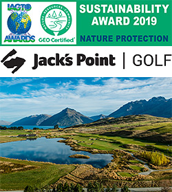 Jack's Point wins international tourism award for nature protection