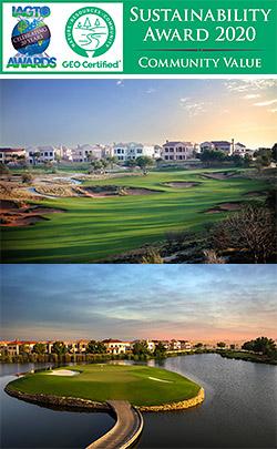 Jumeirah Golf Estates wins Community Value Award at the IAGTO Sustainability Awards