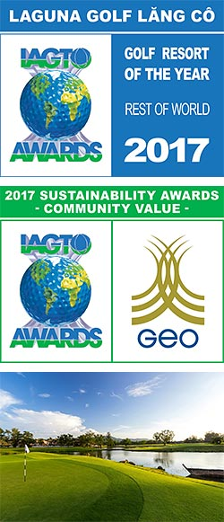 Double Cheer for Laguna Golf at the 17th Annual IAGTO Awards 2017