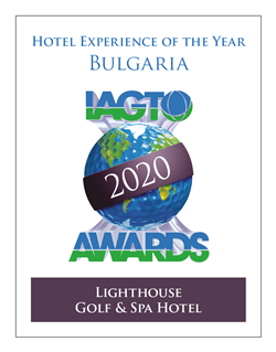 Lighthouse Golf & Spa Hotel wins Hotel Experience Award at 20th IAGTO Award Ceremony