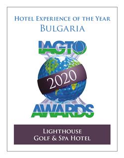 Lighthouse Golf & Spa Hotel wins Hotel Experience Award at 20th IAGTO Award Ceremony