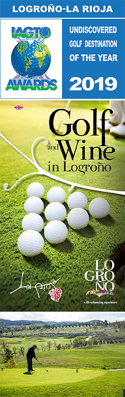 Golf In Logroño-La Rioja, IAGTO Undiscovered Golf Destination of the Year for 2019