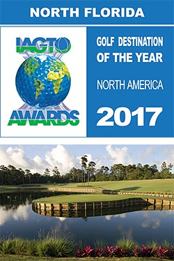 Northeast Florida selected as the winner of the IAGTO North American Golf Destination of the Year