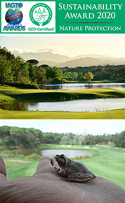 PGA Catalunya Resort earns double crown at the 2020 IAGTO Awards
