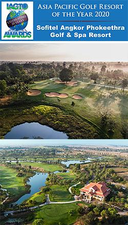 Sofitel Angkor Phokeetra Golf & Spa Resort awarded during the 20th Annual IAGTO Awards