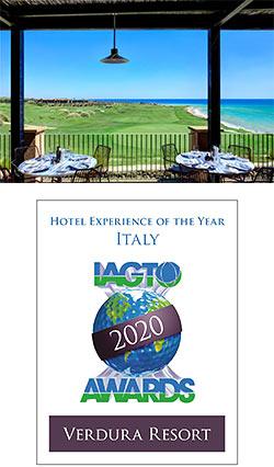 Verdura Resort named Best in Italy at new Global Awards