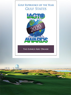 Yas Links Abu Dhabi wins the IAGTO Golf Experience of the Year Award for the Gulf States