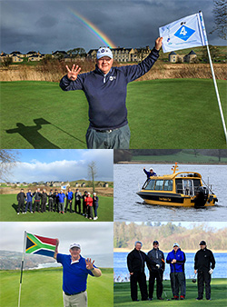 Golf-walker Nick Edmund takes another giant leap for his cancer charity cause