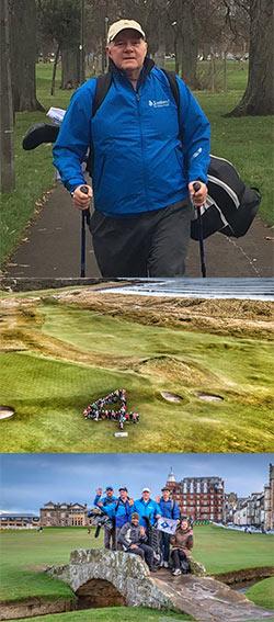 4 is the magic number for brave cancer survivor Nick Edmund & Global Golf4 Cancer