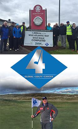 Nick Edmund plans Galway return to complete his 2,000km Wild Atlantic Way charity golf-walk
